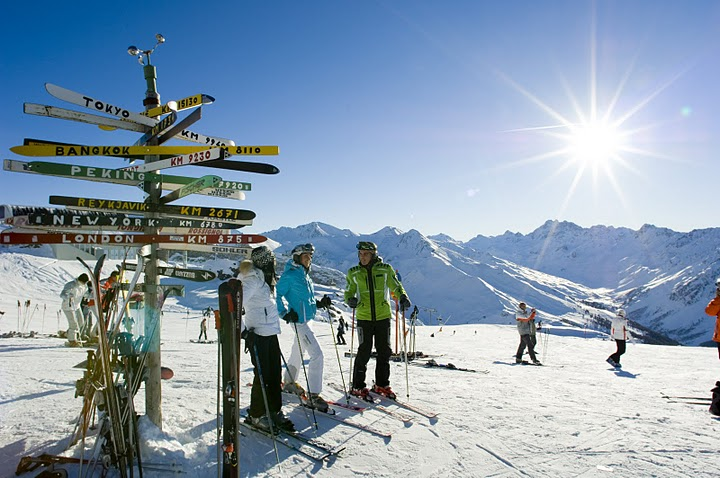 Skiurlaub, Hotels & Appartments in Ischgl online buchen - Skireisen bei bed-and-ski.de